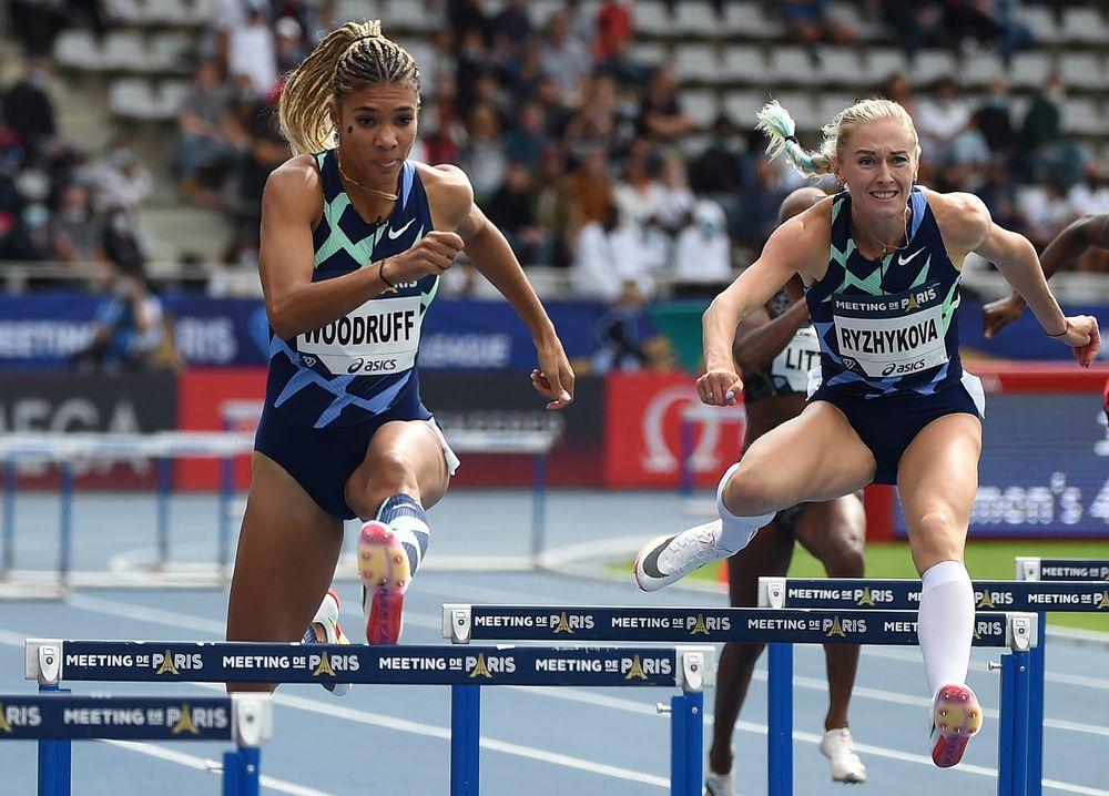 Gianna Woodruff reina en los 400 metros de la reunión de Zagreb