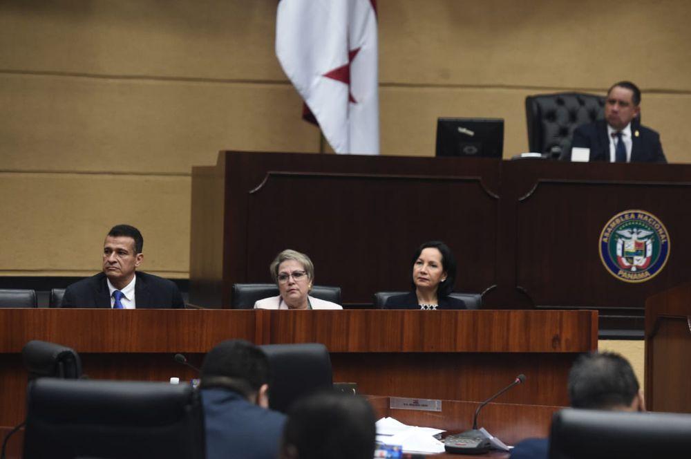 Pleno de la Asamblea evalúa ratificación de los tres magistrados de la Corte Suprema