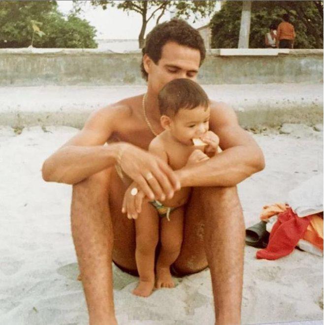 Radamel Falcao se despide de su padre con emotivo mensaje y fotos