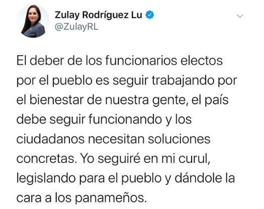 Coronavirus. Ministra de Salud le llama la atención a la diputada Zulay Rodríguez. Ella responde. Video