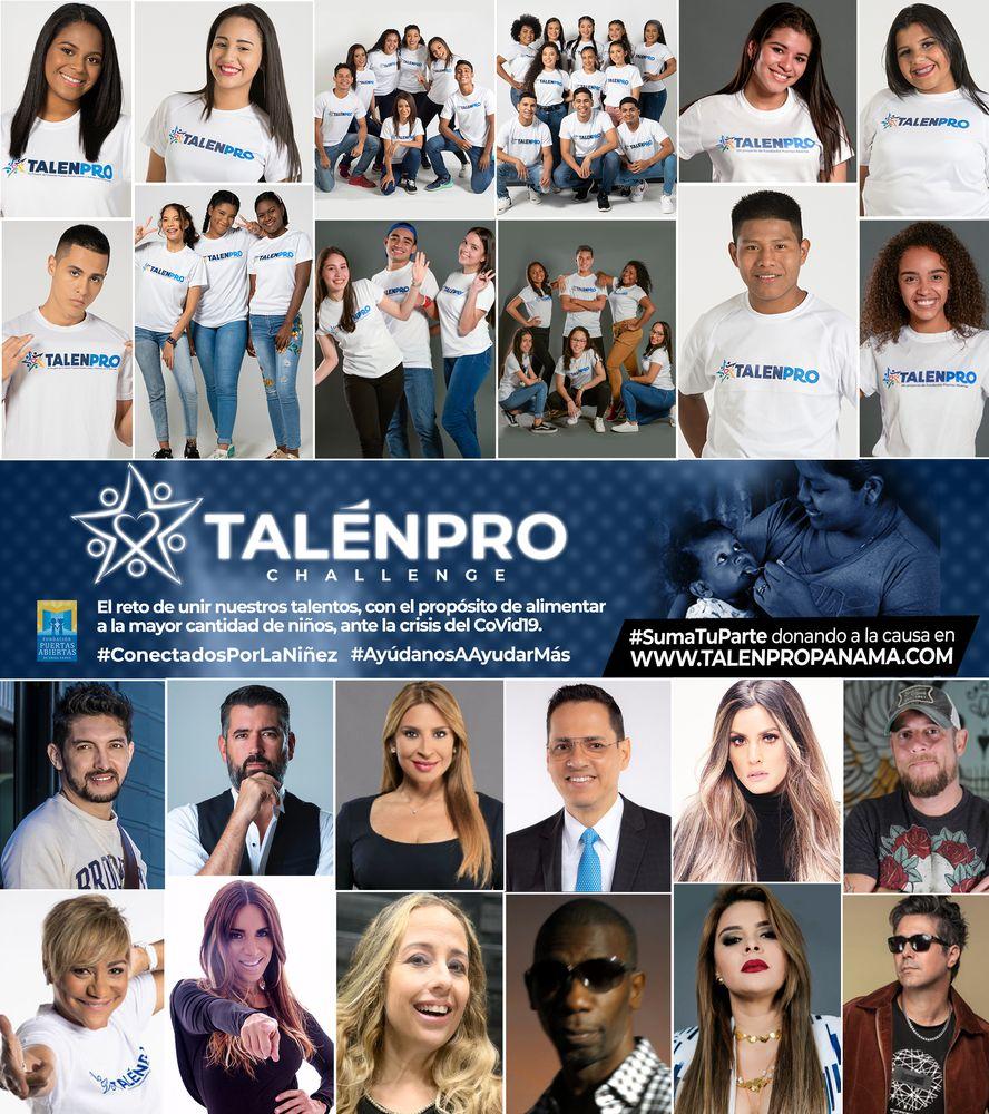 La niñez necesitada del país fue la gran ganadora del TalenPro Challenge 2020
