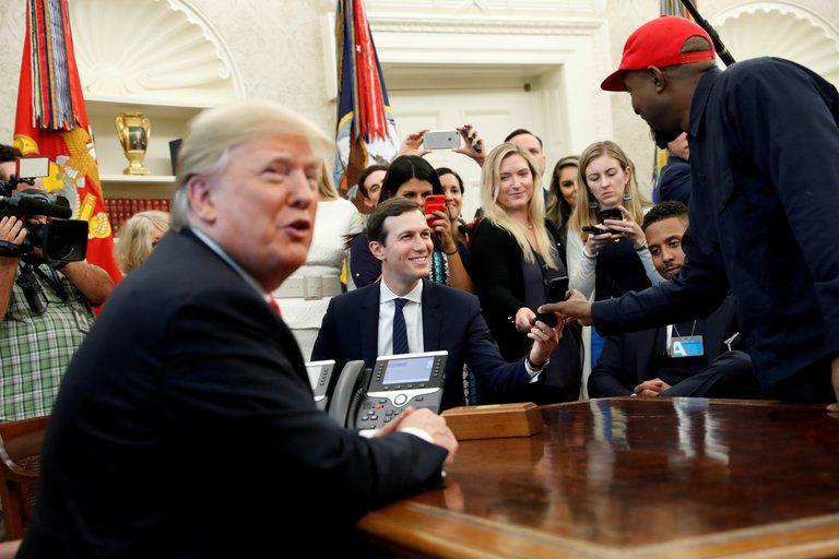 Kanye West anunció su candidatura a la presidencia de Estados Unidos