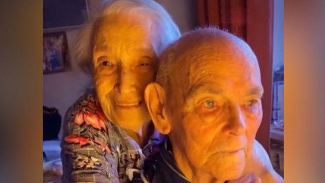 Llevan 70 años y ahora comparten el secreto de su amor   Video