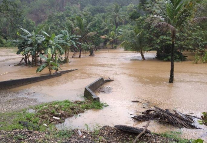 Las lluvias también afectaron algunas casas en Portobelo, Colón