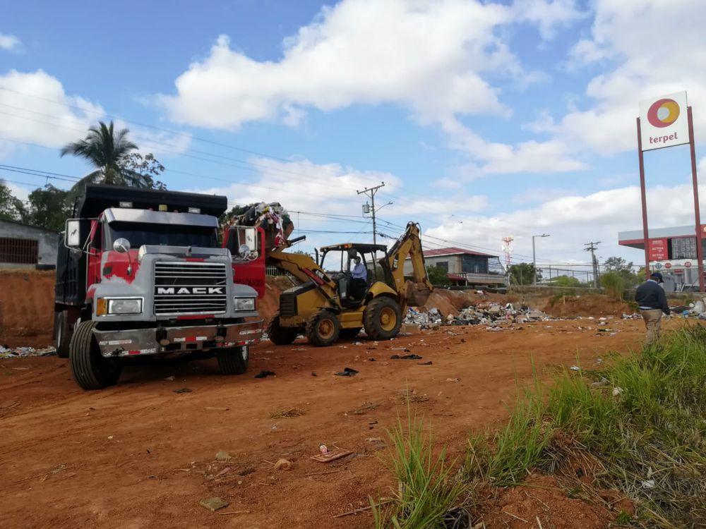 Estación de Transferencia de desechos está en Paso Blanco