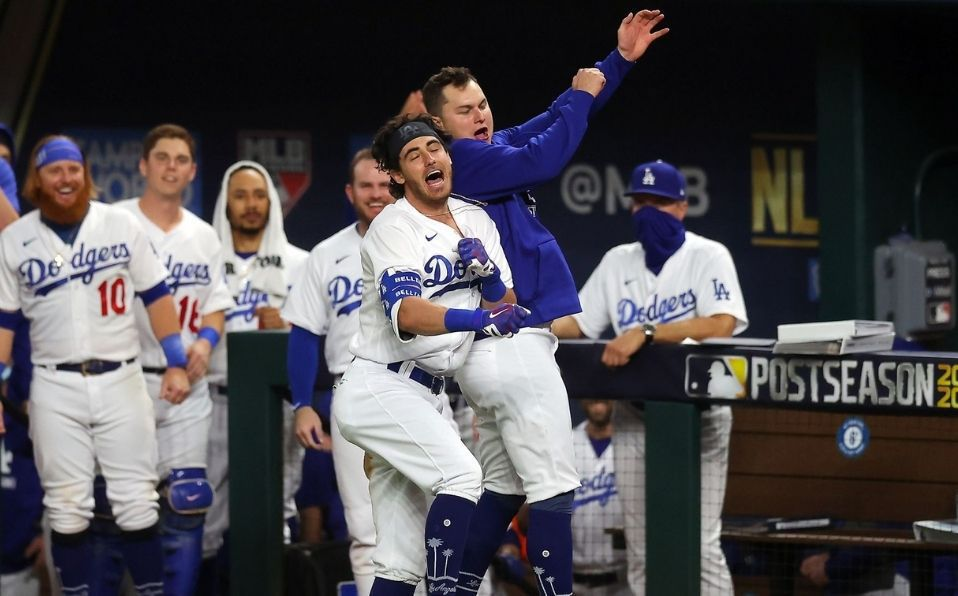 Dodgers logra remontar ante Bravos y gana boleto a la Serie Mundial