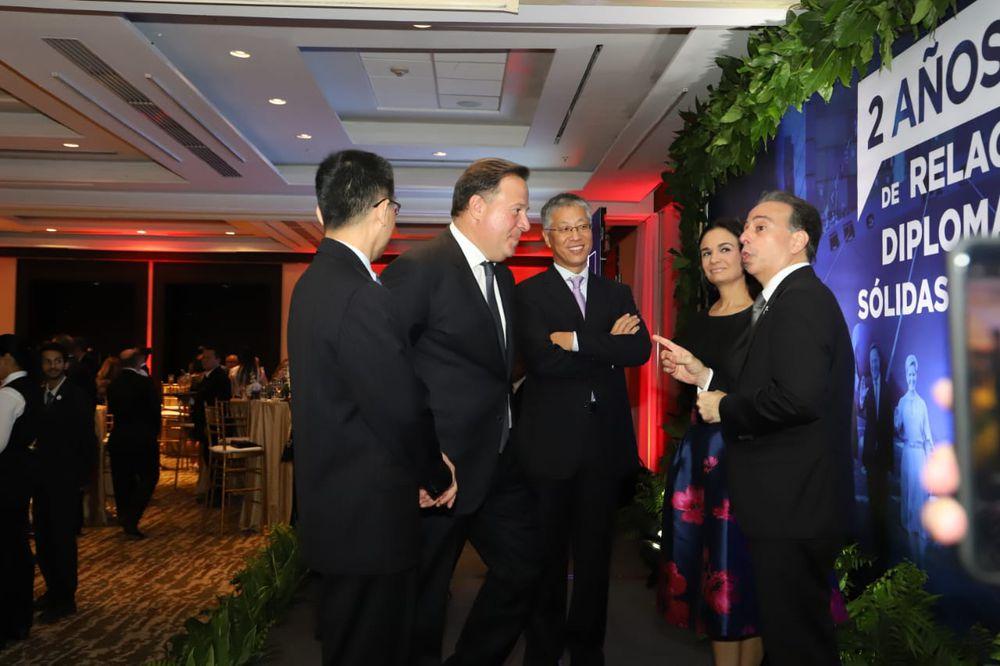 Dos años de relaciones entre China  y Panamá