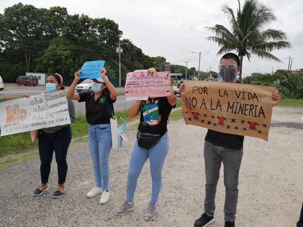Por tema de la minería en la región, residentes de La Pintada en Coclé piden reunión con el MICI