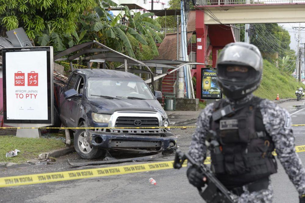 Cámara de seguridad capta el momento del accidente donde perdieron la vida tres personas en Villa Lorena