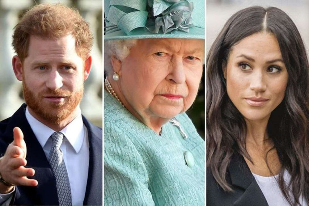 Harry y Meghan no le preguntaron a la reina Isabel II sobre el nombre de su hija