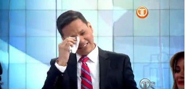 Hacen llorar a Álvaro Alvarado. Les diremos por qué. Video
