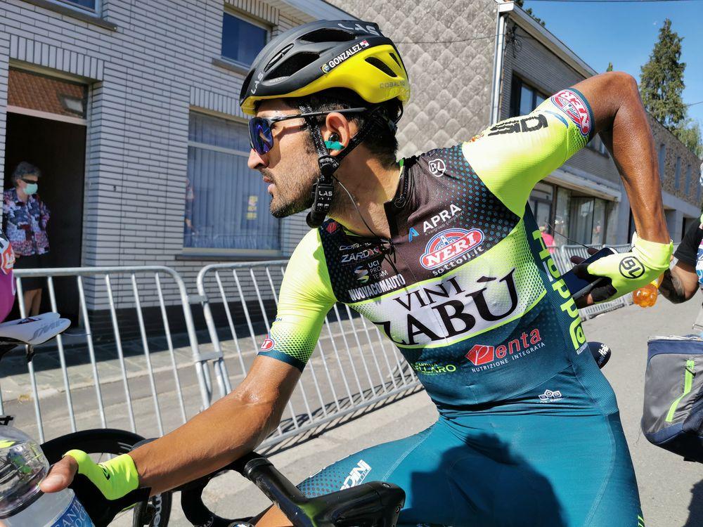 Panameño González, el mejor de su equipo en la 1ra etapa del Tour de Luxemburgo