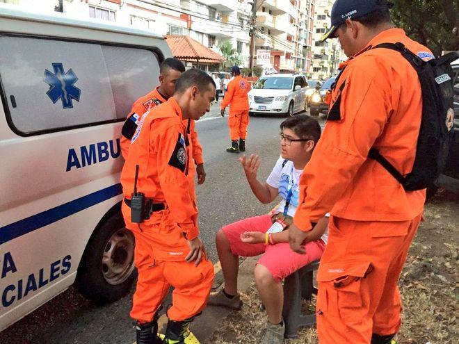 Joven polaco salvó la vida de peregrina salvadoreña en la JMJ, confirmó Varela