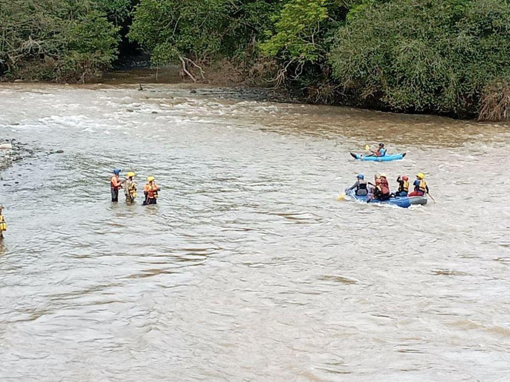 Hallan restos humanos en el río Fonseca