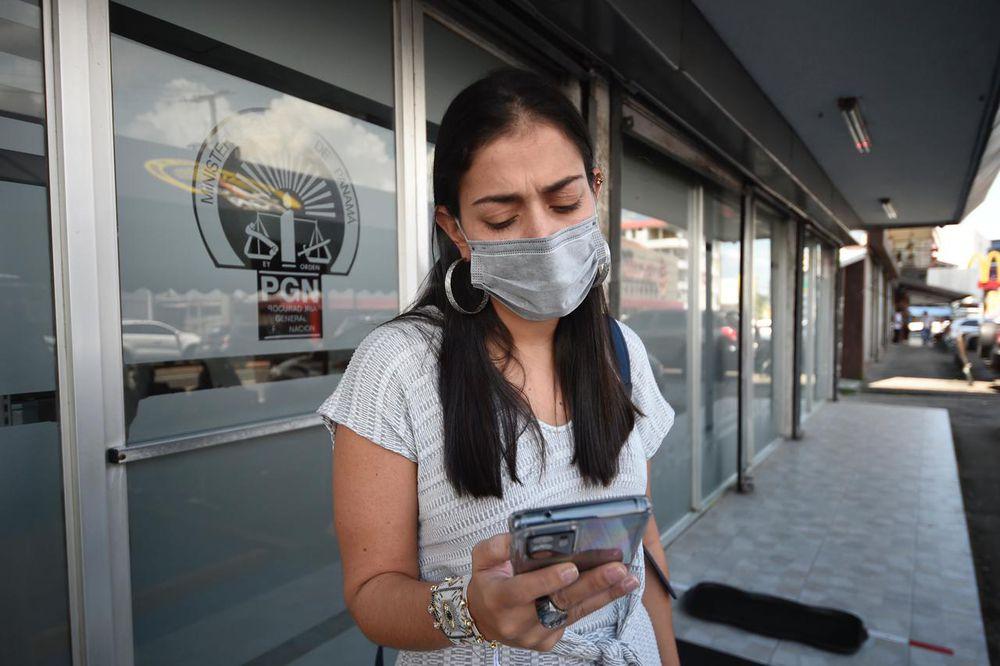 Por amenazas telefónicas. Periodista Flor Mizrachi acude al Ministerio Público a interponer una denuncia. Video