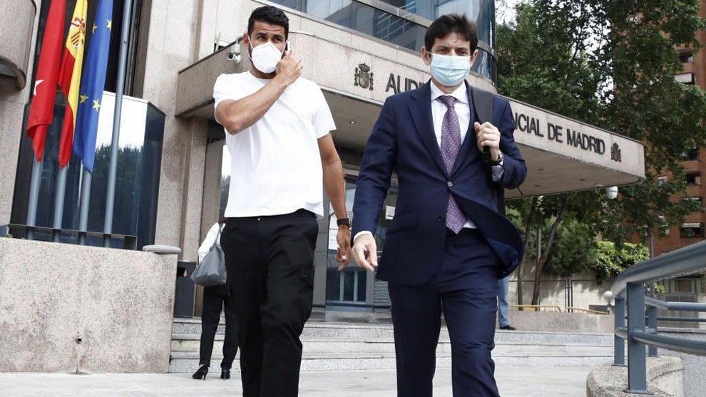 Diego Costa paga multa para evitar la cárcel