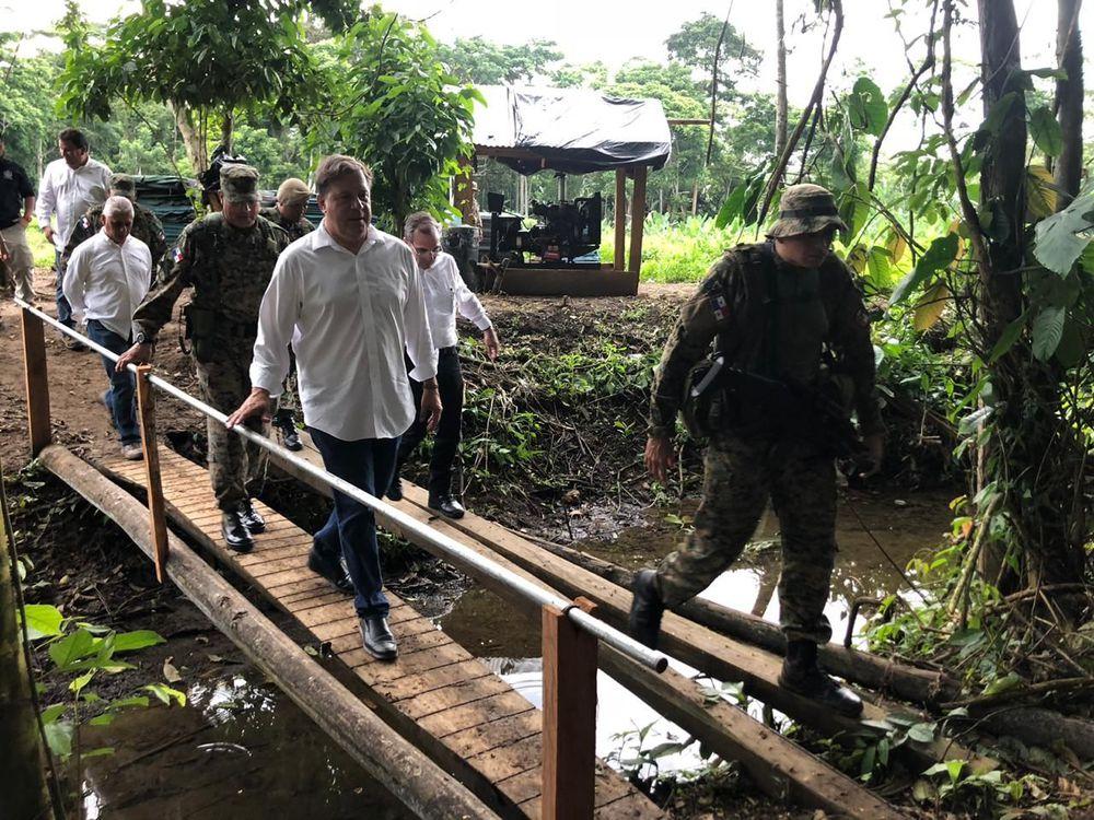 Base Binacional 'La Olla' punto de encuentro de la seguridad entre Panamá y Colombia