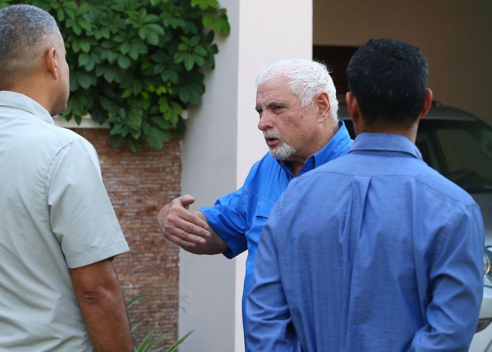 Se mantiene contrainterrogatorio a testigo protegido en la audiencia al ex presidente Ricardo Martinelli