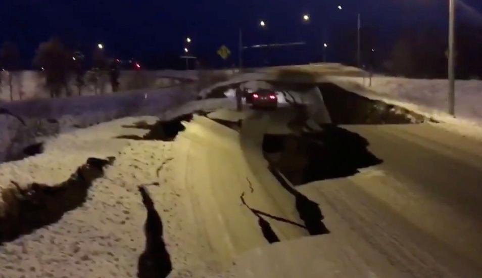 Revelan aterradores videos del terremoto ocurrido en Alaska