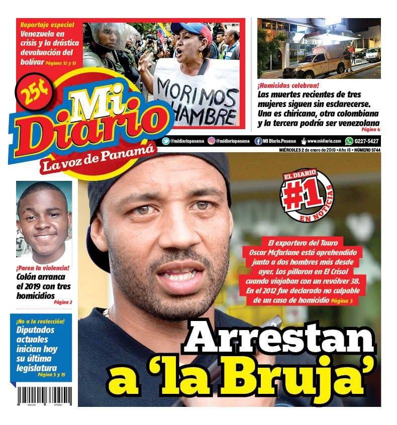 Llaman a juicio a portero panameño. Fiscalía pedirá ocho años de prisión
