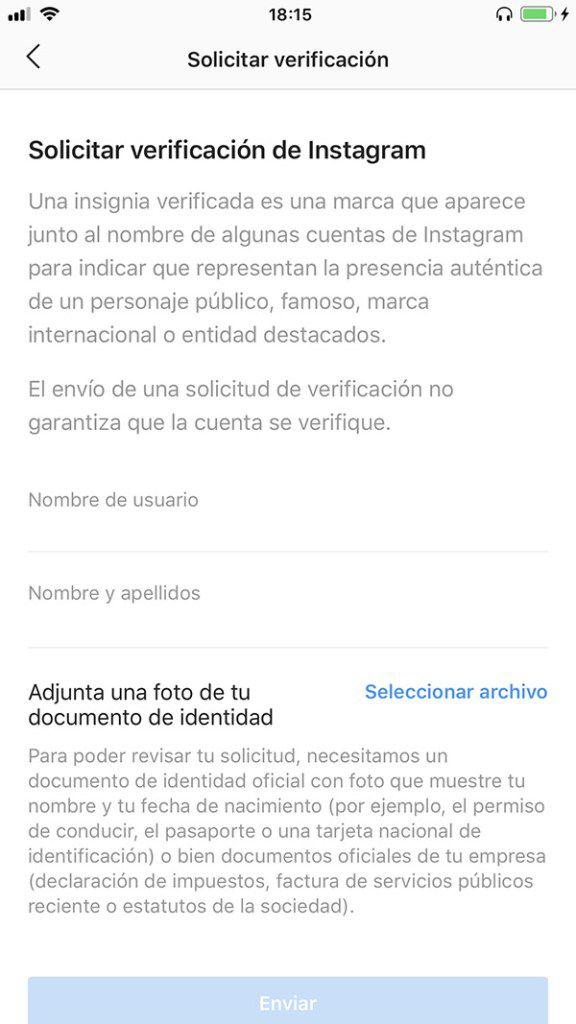 Instagram empieza a verificar a usuarios, pero 'influencers' tiene prioridad