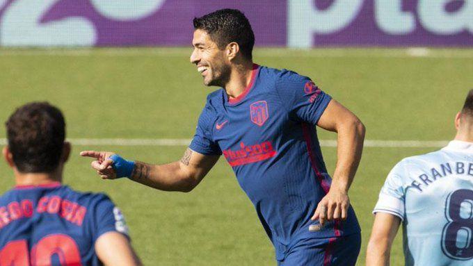 Suárez llega a 150 goles en España y el Atlético Madrid se lleva la victoria