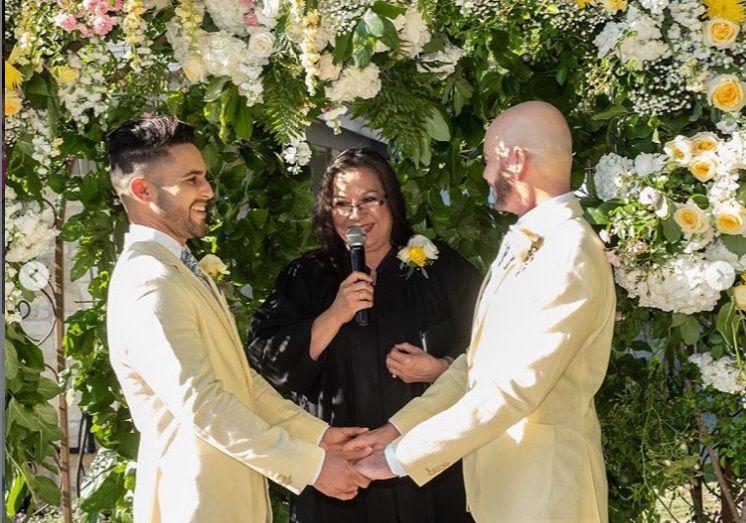 Ex 'Vive la Música' se casó con otro hombre +Foto