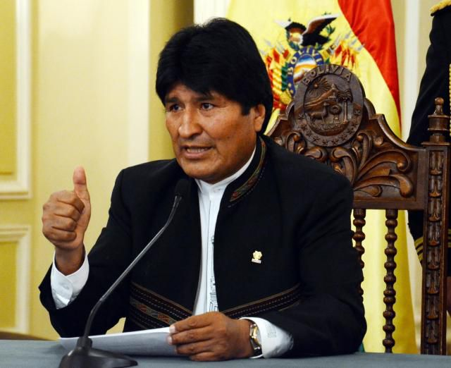 Interpol rechazó la detención del expresidente boliviano Evo Morales