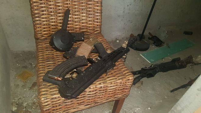 El capturado en Amador era un presunto narco y sicario.Vea lo que cargaba