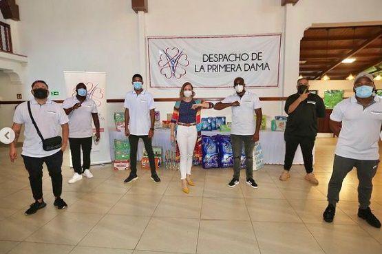 Sech dona 5 mil dólares para los damnificados y ora por Centroamérica +Video
