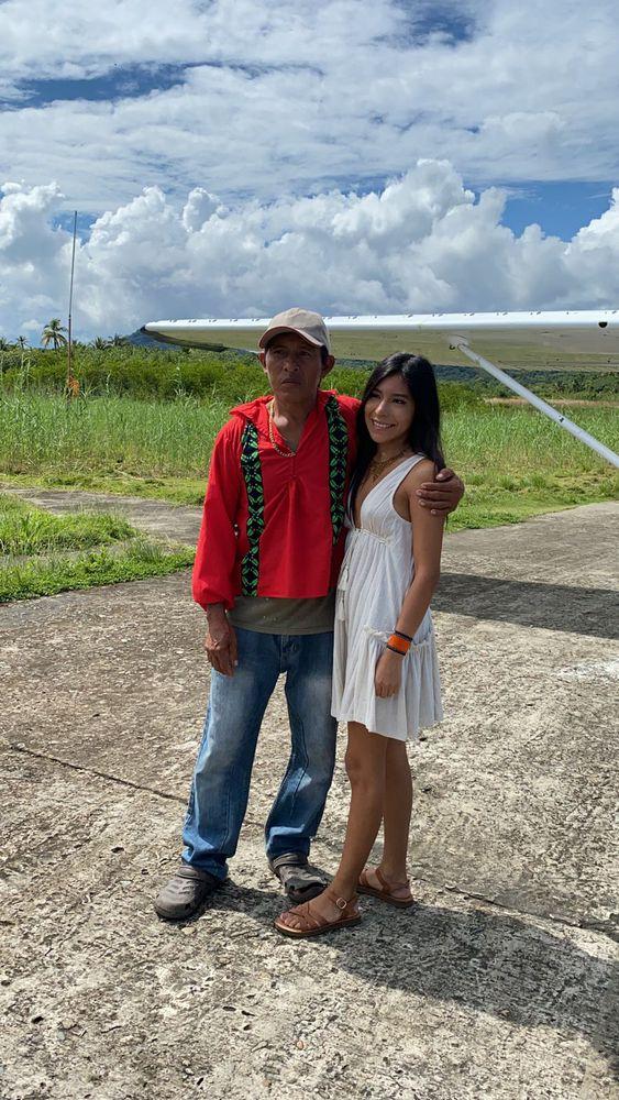 Al fin la modelo guna Ana Blanco conoció a su padre biológico